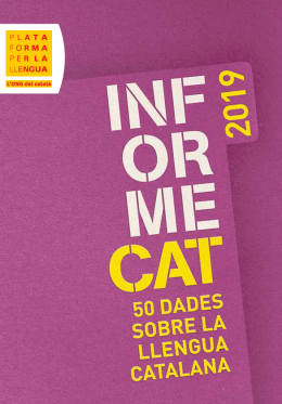InformeCAT 2019 (available in Catalan)