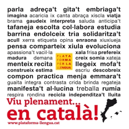 Viu plenament en català!