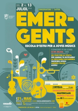Cartell Emergents 2018